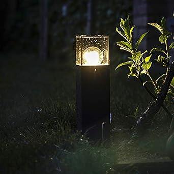 QAZQA Moderne Lampe d\'extérieur moderne 30 cm anthracite ...