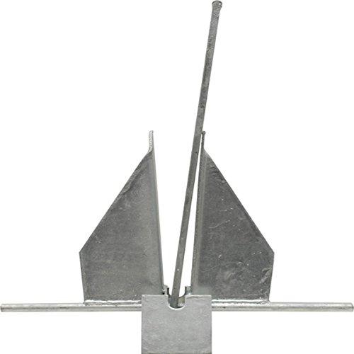 Penetrating Fluke Anchor (Fluke Galvanized Anchor, 8-Pound)