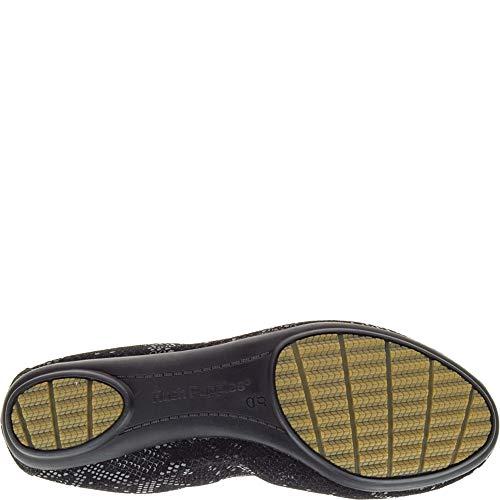 Suede Puppies Metallic Chaste Hush Plates Femmes Snake Chaussures Black 68wxdqa