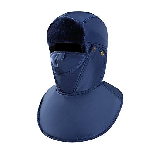 Hat A Para Mens Patinaje Hiking Bomber Ushanka SOOCO Ear Máscara El Prueba Beige Winter De Unisex Flap Esquí Winter Warm Viento De FwCIY