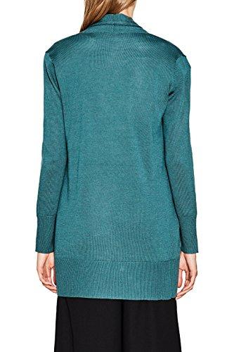 Teal Vert Gilet ESPRIT 379 5 Dark Green Femme Collection Oww7qxtX