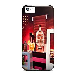 New Style LuckyBecky Hard Case Cover For Iphone 5c- Absolutcrush
