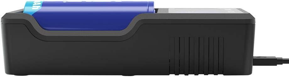 XTAR VC2 Chargeur USB de qualit/é sup/érieure avec /écran LCD 18350 18500 18650 18700 14500 16340 17500 Chargeur de Batterie Li-ION sans Piles Mise /à Niveau de la s/érie MC