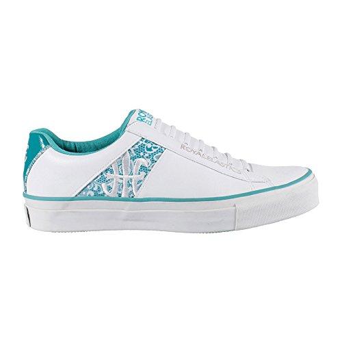 White Women for Elastics Royal White Cruiser Sneakers qxwTXnSR0F