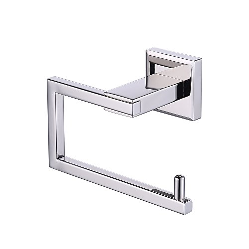 KES Bathroom Toilet Paper Holder Wall Mount Polished SUS 304 Stainless Steel, A2470