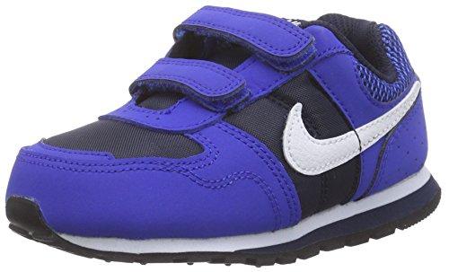 NikeMD Runner (TDV) - Zapatillas de Deportes de Exterior Bebé - unisex azul - Bleu (blue/navy/white)