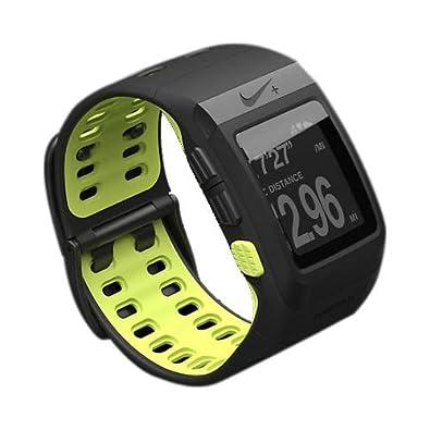 d026d6c59d Amazon | [ナイキ] スポーツウォッチ GPS ブラック/ボルト/ボルト WM0071 | NIKE(ナイキ) | NIKE(ナイキ)