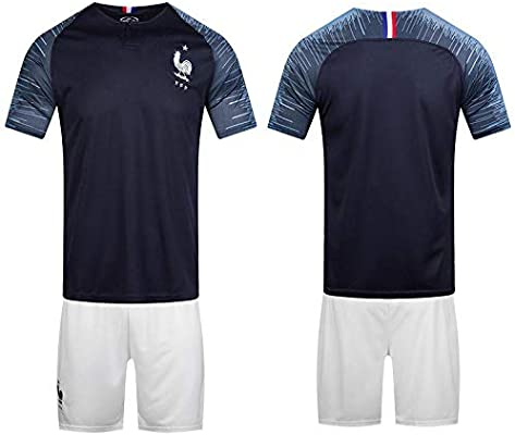 sports shoes 5b7fb b770a 2018 world cup Football Jersey France Team Football suits ...