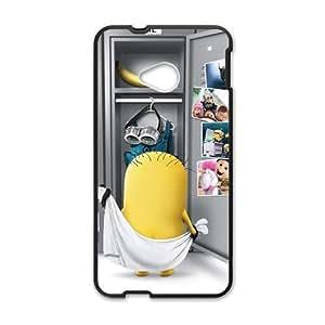Yellow Pegman Taking Bath Black HTC M7 case