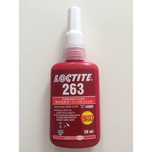 GENUINE LOCTITE 263 RED THREADLOCKER HIGH STRENGTH GLUE 50ML EXP 01/17