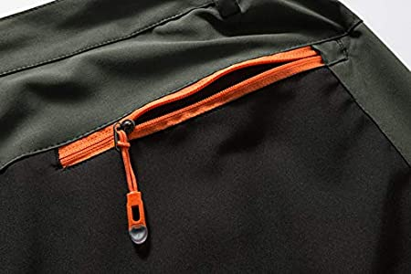 Gopune Mens Hiking Pants Summer Outdoor Lightweight Breathable Quick Dry Climbing Mountian Pants