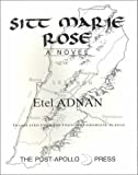 Front cover for the book Sitt Marie Rose by Etel Adnan