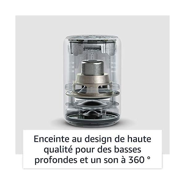 Echo Plus (2ème génération), Son de qualité premium avec un hub maison connectée intégré, Tissu anthracite 4