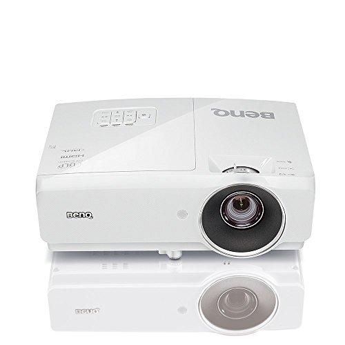 BenQ MH750 1080p High Brightness Projector with 4500 Lumens | Wireless Presentation Capability | Lan Network Control Compatibility (Renewed)