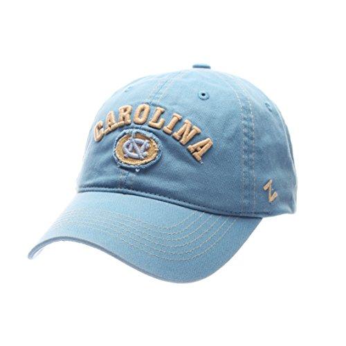Zephyr Cotton Cap - ZHATS NCAA North Carolina Tar Heels Adult Men's Sluffer Relaxed Cap, Adjustable Size, Light Blue