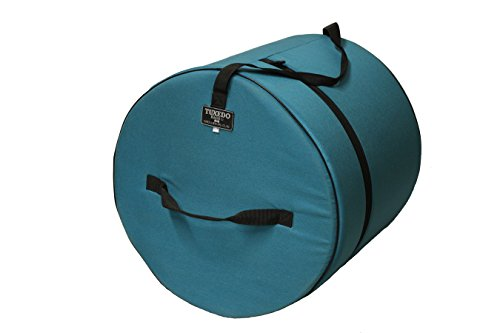 18 X 22-Inches Tuxedo Bass Drum Bag COLOR TEAL (Tuxedo Drum Cases)
