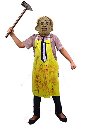 The Texas Chainsaw Massacre Child Costume & Mask Standard - Leatherface Apron Child Costumes