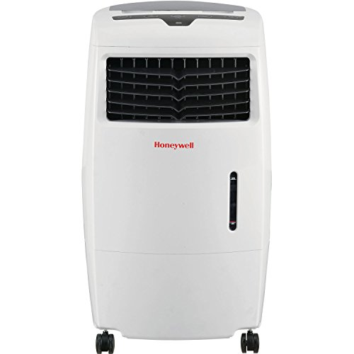 Honeywell 500 CFM Indoor Evaporative Air Cooler (Swamp Cooler) with Remote Control in White by Honeywell