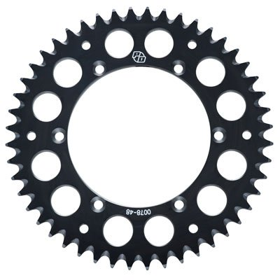 Primary Drive Rear Aluminum Sprocket 50 Tooth Black for Honda CRF150F 2003-2009 - Honda Aluminum Sprocket