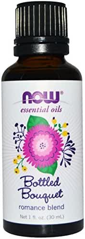 NOW Foods Bottled Bouquet Essential Oil Blend, Sweet, Warm and Floral with Fresh Citrus Notes, 1 Ounce