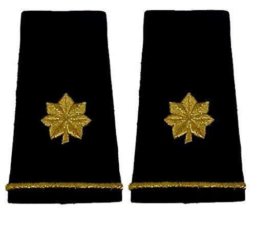 Army Uniform Epaulets - Shoulder Boards O-4 MAJOR