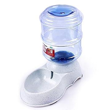 Seco alimentos Pet Feeder Auto automático dispensador de agua 3,5 L de capacidad, gravedad suministro para perros gatos: Amazon.es: Productos para mascotas