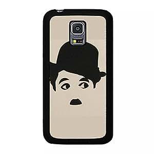 Classical Comedy Charlie Chaplin Phone Case For Samsung Galaxy S5 Mini DIY Pattern Black Case