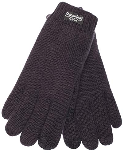 EEM kids knit gloves SNOW AND FUN with touch function, Thinsulate thermal lining, 100% cotton