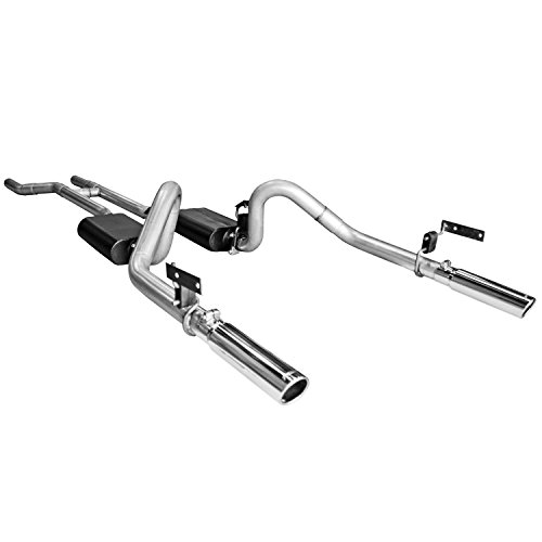 Mustang Flowmaster Exhaust (Flowmaster 817281 Super 44  Series Header-Back Exhaust System for Ford Mustang)