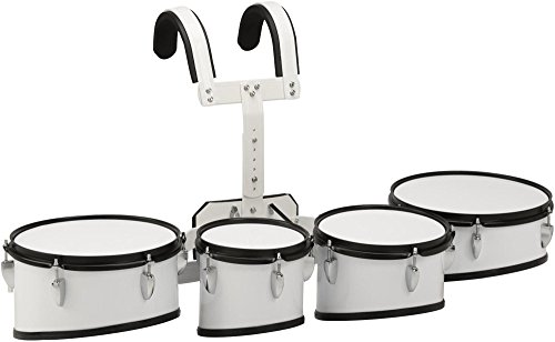 Sound Percussion Sticks (Sound Percussion Labs Marching Tenor Drum with Carrier 8 in.,10 in.,12 in.,13 in. White)