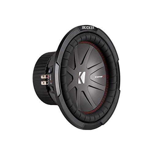 """Kicker - 43CWR102 CompR 10"""" Dual Voice Coil 2-Ohm 400W Subwoofer"""