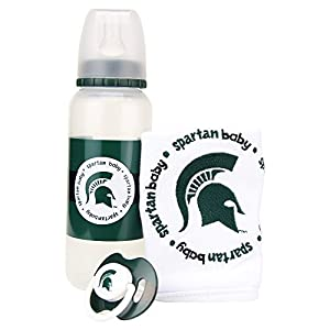 Baby Fanatic NCAA Baby Gift Set, Michigan State Spartans