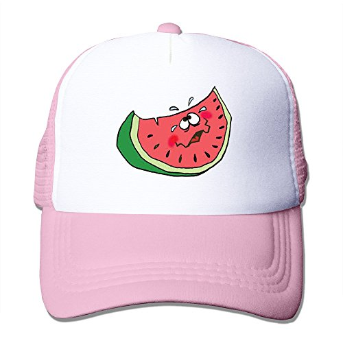 Price comparison product image Handson Personalized Two-toned Sweat Watermelon Football Cap Hat Pink