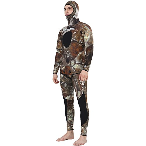5mm New Camouflage Spearfishing Suit Scuba Diving Wetsuit