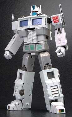 Transformers Masterpiece Mp-02 Ultra Magnus Die-cast Action Figure
