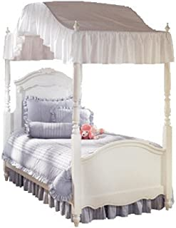 Twin Size 200 Thread Count Solid White Canopy Top - Flat or Arch Style Canopy  sc 1 st  Amazon.com & Amazon.com: Full Size Solid White Canopy Top Fabric: Home u0026 Kitchen
