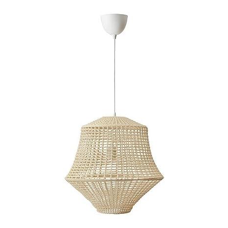 Ikea Industriell Lampe Suspension Beige Naturel 104 004 89 Taille 45