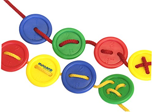 Lacing Buttons 140-Piece Learning Set