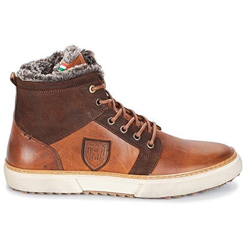 Uomini Pantofola Alte Fur Marrone Mid D'oro Sneakers Uomo Benevento wfqZf1xYF