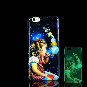 YULIN iPhone 6 Plus compatible Novelty/Graphic/Glow in the Dark Back Cover
