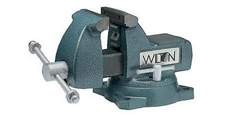 Wilton 21300 744 4-Inch Jaw Width by 4-1/2-Inch Opening Mechanics Vise by Wilton