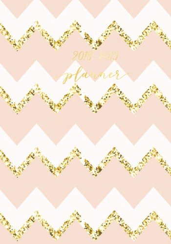 2018-2019 Planner: Pink & Gold Weekly & Monthly Schedule Diary | Get Things Done At A Glance, High School, College, University, Home, Organizer ... July 2019 Timetable (Education) (Volume 17)