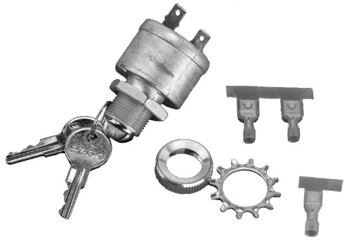 - EZGO 17421G1 Ignition Switch Kit (Vehicles Without Factory Lights)