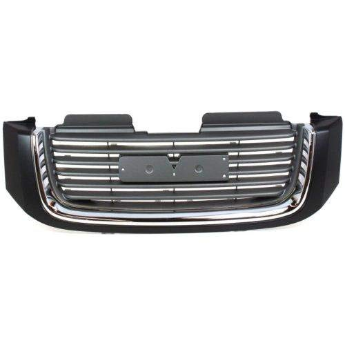 (Go-Parts ª OE Replacement for 2006-2007 GMC S15 Jimmy/Envoy Grille Assembly 19121042 GM1200604)