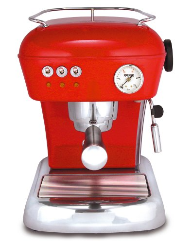 Ascaso DR.114 Dream 16-Bar-Pump Espresso Machine, Love Red