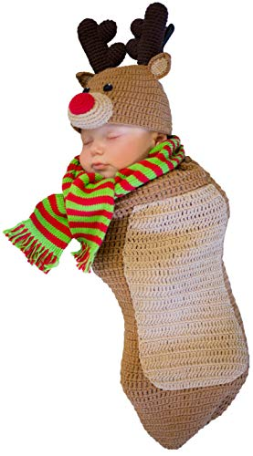 Princess Paradise Baby Randolph The Reindeer Deluxe Costume, As As Shown, 0/3M]()