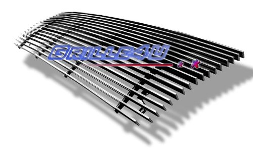APS F85007A Polished Aluminum Billet Grille Replacement for select Ford Bronco Models - Aluminum Grille
