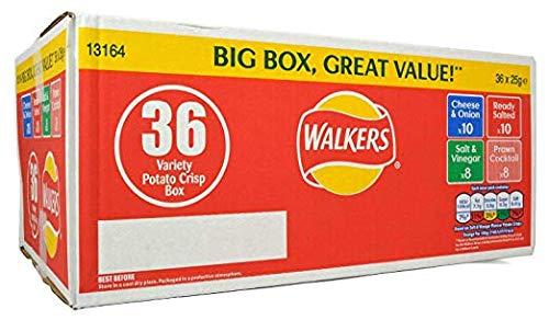Walkers Variety Bumper Box 36 x 25g