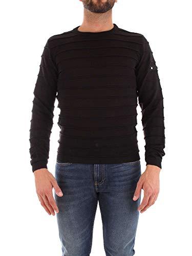 Cesare Paciotti Men's Sa1514nero Black Wool Sweater