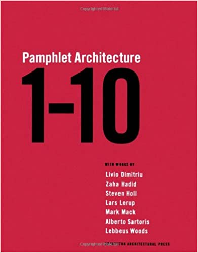 Book Pamphlet Architecture